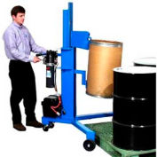 Morse® Model 82H-125 12V DC Power Drum Lifter & Palletizer - Rimmed Drum - 1000 Lb. Capacity