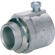 """Morris Products 14340, Malleable Rigid Set Screw Box Connector 1/2"""""""