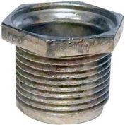 "Morris Products 14502, 1"" Long Conduit Speed Nipple - Zinc Die Cast  1/2"""