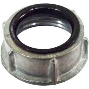 Morris Products 14540, Conduit Bushings with Insulated Throat - Zinc Die Cast 1/2""