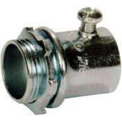 "Morris Products 14889, EMT Set Screw Connectors - Steel  4"""