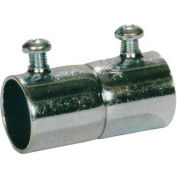 Morris Products 14902, EMT Set Screw Couplings - Steel  1""