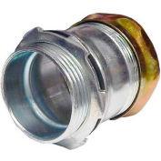 """Morris Products 14972, Steel EMT Rain Tight Compression Connectors 1"""""""