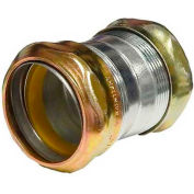 Morris Products 14991, Steel EMT Rain Tight Compression Couplings 3/4""
