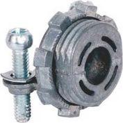 """Morris Products 15058, Flex 2 Set Screw Strap, Type Multi-Purpose Box Connectors, Zinc Die Cast 3/8"""""""