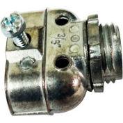 """Morris Products 15065, Flex Duplex Box Connectors - Zinc Die Cast - 1 Set Screw  3/8"""""""