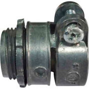 """Morris Products 15111, Straight Squeeze Box Connectors 1/2"""""""