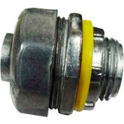 """Morris Products 15241, Liquid/Water Tight Connectors - Straight - Zinc Die Cast 1/2"""""""
