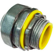 """Morris Products 15252, Liquid/Water Tight Connectors-Straight-Insulated Throat-Zinc Die Cast 1/2"""""""