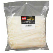 """Morris Products 20118, Nylon Cable Ties - Bulk Pack  40LB 6"""" 1000 Pk, 1000 Pk"""