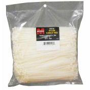 """Morris Products 20124, Nylon Cable Ties - Bulk Pack  50LB 7"""" 1000 Pk, 1000 Pk"""