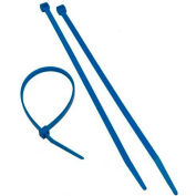 """Morris Products 20635, Blue Nylon Cable Ties 50LB 11"""", 100 Pk"""