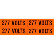 Morris Products 21320, Voltage Markers (4) 120/208V (5 Pack)