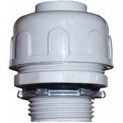 "Morris Products 21815, Non-Metallic Liquid/Water Tight Connectors - Straight 1"""