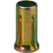 Morris Products 22083 Crimp Sleeves Non-Insulated Steel #14 - #8, 100 Pk