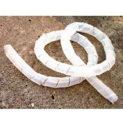 "Morris Products 22166, Spiral Wrap Polyethylene .59""- 1.97""  100'"