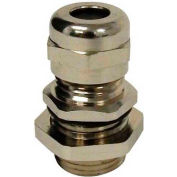 "Morris Products 22600, Metal Cable Glands - NPT Thread  3/8"" .16"" - .32"""