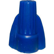 Morris Products 23290, Winged Twist Connectors Blue Hanging Bag 6 Pack, 6 Pk