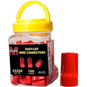 Morris Products 23356, Easy-Cap Wire Connectors Red Small Jar