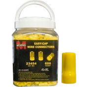 Morris Products 23454, Easy-Cap Wire Connectors Yellow Large Jar