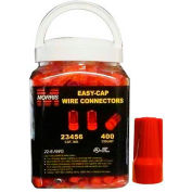 Morris Products 23456, Easy-Cap Wire Connectors Red Large Jar