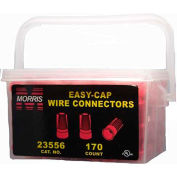Morris Products 23556, Easy-Cap Wire Connectors Red Handy Pack