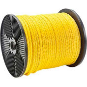 """Morris Products 31914, Twisted Polypropylene Pull Rope 1/4"""" Dia  1200 ft  1125 lb Tensile"""
