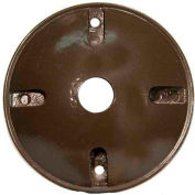 """Morris Products 36814, 4"""" Round Weatherproof Covers - One Hole 1/2"""" Bronze"""