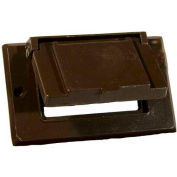 Morris Products 37024, One Gang Weatherproof Covers - Horizontal GFCI/Decorator Bronze