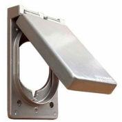 Morris Products 37170, One Gang Weatherproof Covers - Vertical Dryer/Range Receptacle