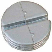 """Morris Products 37530, Hole Plugs 1"""" Gray, 10 Pk"""