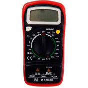 Morris Products 57030, Digital Multimeter with Rubber Holster