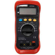 Morris Products 57044, Autoranging Digital Multimeter with Rubber Holster
