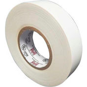 "Morris Products 60112, 7 Mil Professional Grade Vinyl Electrical Tape White 3/4"" X 66'"