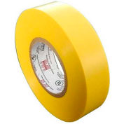 "Morris Products 60113, 7 Mil Professional Grade Vinyl Electrical Tape Yellow 3/4"" X 66'"