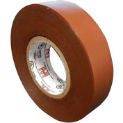 "Morris Products 60116, 7 Mil Professional Grade Vinyl Electrical Tape Brown 3/4"" X 66'"