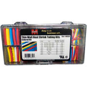Morris Products 68320, Thin Wall Heat Shrink Tubing Kits - Colors