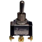 Morris Products 70080, Heavy Duty Toggle 1 Pole Switch SPDT On-Off-On Screw Terminals