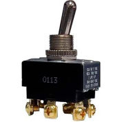 Morris Products 70130, Heavy Duty 2 Pole Toggle Switch DPDT On-On Screw Terminals