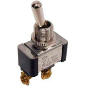 Morris Products 70250, Heavy Duty Momentary Contact Toggle Switch SPST (On)-Off Screw Terminals