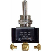 Morris Products 70270, Heavy Duty Momentary Contact Toggle Switch SPDT On-Off-(On) Screw Terminals