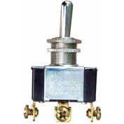 Morris Products 70280, Heavy Duty Momentary Contact Toggle Switch SPDT (On)-Off-(On) Screw Terminals