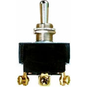 Morris Products 70300, Heavy Duty Momentary Contact Toggle Switch DPDT (On)-Off-(On) Screw Terminals