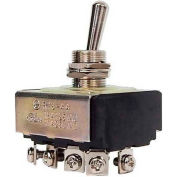Morris Products 70304, Heavy Duty 4 Pole Toggle Switch 4PST On-Off Screw Terminals