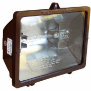 Morris Products 71080, 500 Watt Quartz Floodlight - Bronze 120V