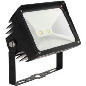 Morris Products 71342, LED ECO-Flood Light with Yoke 31 Watts 2630 Lumens 120-277V