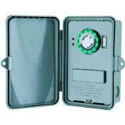 Morris Products 80460, 24 Hour Multi-Voltage Time Controls Non-Metal Enclosure DPDT 10-208-240-277V