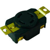 Morris Products 89745, Locking Receptacles 3 Pole 4 Wire  30A 250V