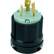 Morris Products 89746, Twist Lock Male Plugs 2 Pole 3 Wire 20A 250VAC