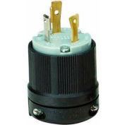 Morris Products 89748, Twist Lock Male Plugs 2 Pole 3 Wire 30A 125VAC
